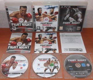 Fight Night Collection (Round 3, 4, Champion) PS3