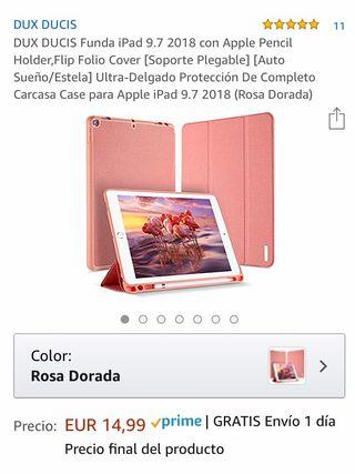 Funda IPad 9.7 rosa dorado