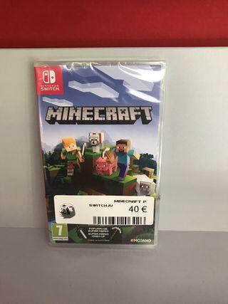 Videojuego Nintendo Switch Minecraft