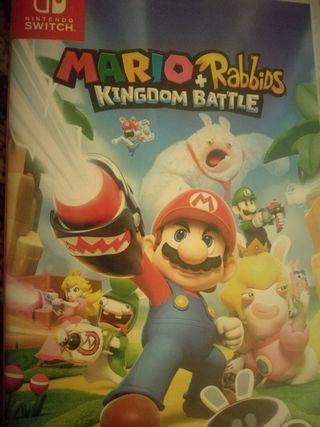 Mario Rabbids. Nintendo switch.