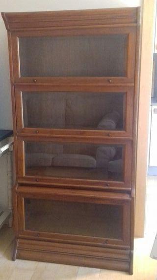 Alacena, vitrina, libreria, armario madera maciza
