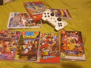 switch juego a 50€ wii juego a 30€
