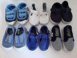 lote de zapatos bebe