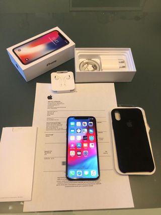 iphone X 256gb LIBRE FACTURA GARANTIA