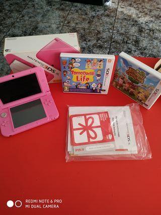 nintendo 3DS xl con juegos