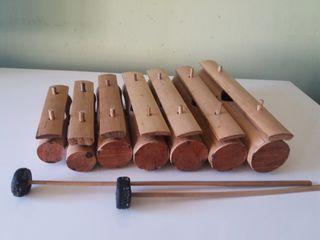 xilofono de bambu