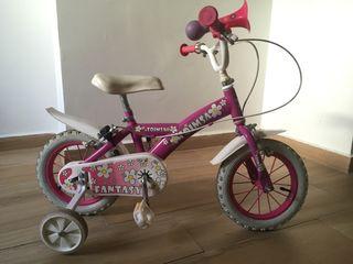 Bici para niña hasta 4 años