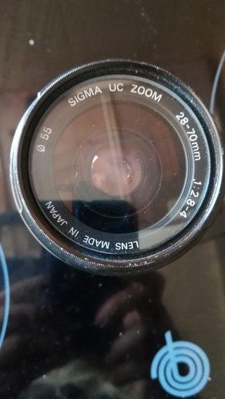 objeto auto foco sigma 28-70 mm