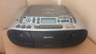 CD RADIO CASSETTE SONY