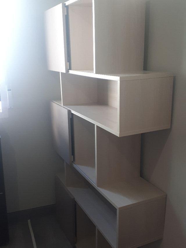 mueble zig zag madera auxiliar