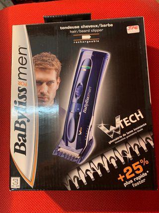 Cortapelo barbero recargable BaByliss E709E