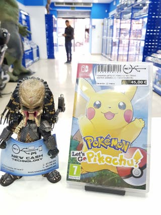 POKEMON LETS GO PIKACHU NINTENDO SWITCH PRECINTADO