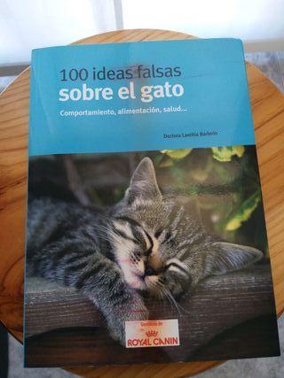 """Libro """"100 ideas falsas sobre el gato"""""""
