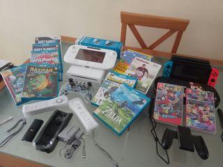 Pack Wii U + Nintendo Switch + Juegos