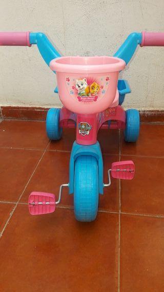 motocicleta para niña