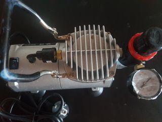 Compresor de aerógrafo