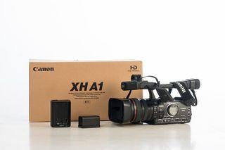 Videocámara Canon XH A1 + bolso