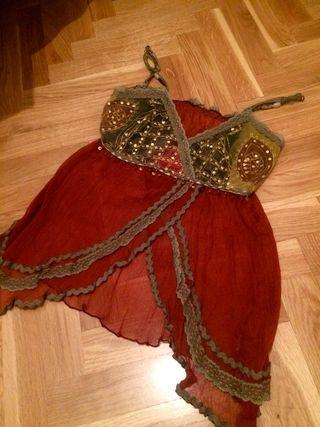 Camisola de tirantes artesana estilo hippie