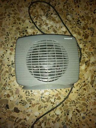 Calefactor Honeywell 2000 w, y ventilador Liquidac