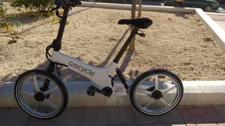 Gocycle eléctrica.
