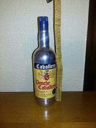 botella ponche caballero