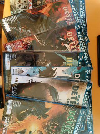 Detective comics Renacimiento 1 a 9
