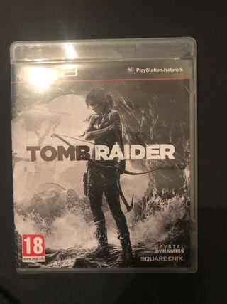 Videojuego tomb raider ps3