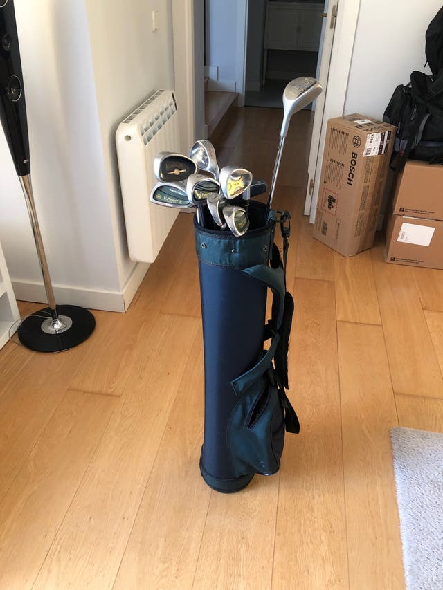 6430066606948 Bolsa y medio set palos de Golf (9) de segunda mano por 35 € en ...