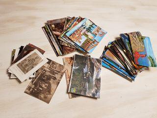 136 postales españa años 60