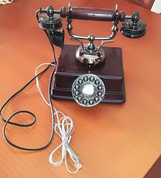 Teléfono madera edición coleccionista