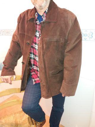 chaqueta ante marrón XL