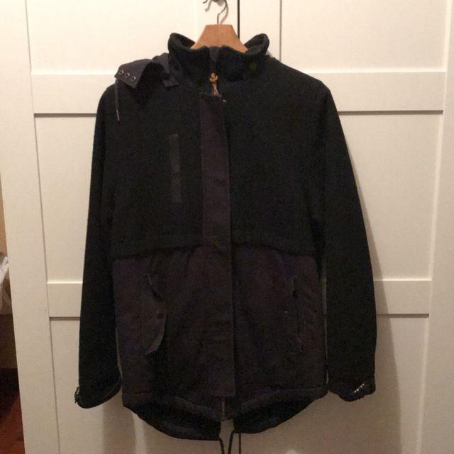 3eaab6dee30 Abrigo con borrego negro Volcom talla S de segunda mano por 55 € en ...