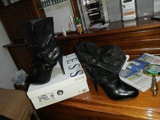 Par de botas n° 38 Preciosa y sin usar.