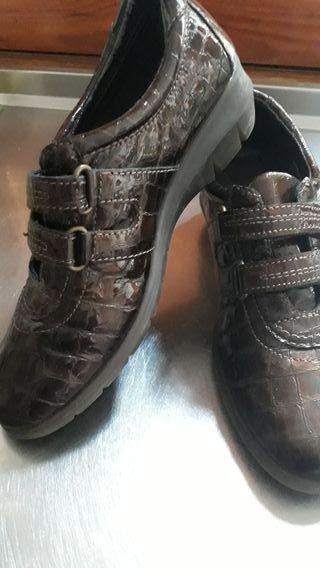 """zapato deportivo """"Flexx"""" de piel. bajada de precio"""