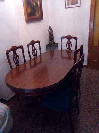 mesa comedor+6 sillas
