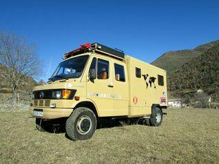 Camión Camper 4x4