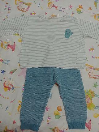 regalo conjunto Zara mini 9-12 meses