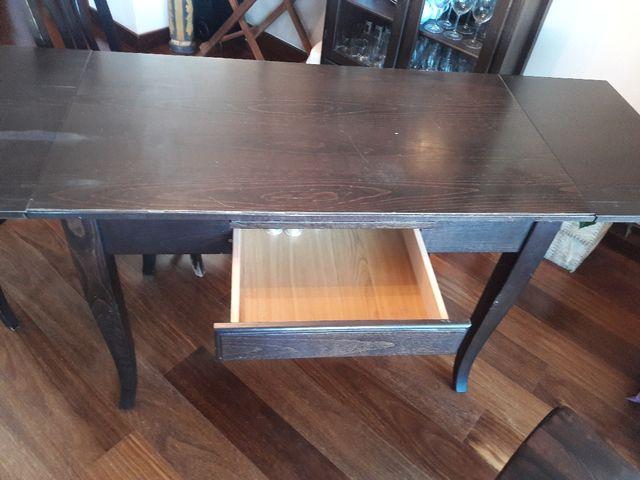 Mesa de madera para cocina o comedor de segunda mano por 90 € en ...
