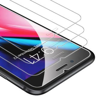 Cristal Templado iPhone 7 Plus 8 Plus - 3 UNIDADES