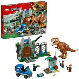 Lego Fuga T.Rex Jurassic World Nuevo