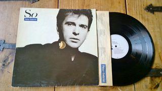 """Peter Gabriel-Vinilo LP""""SO"""""""