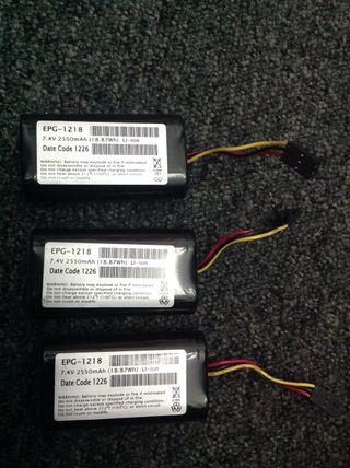 Baterias 7,4v