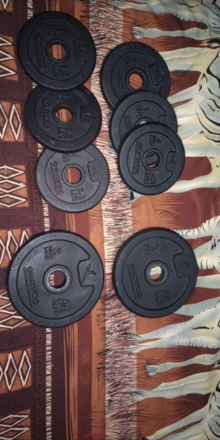 banco de pesas mas pesas