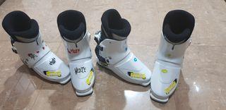 botas de esqui.