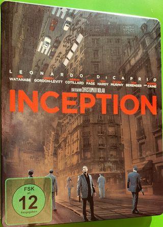 Steelbook INCEPTION Blu-ray