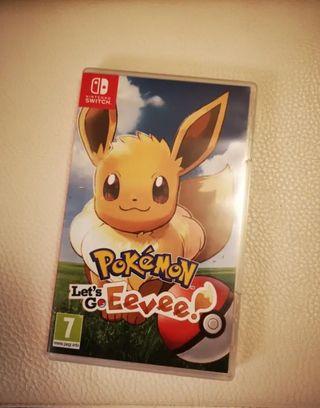 Pokemon Let's go Evee Switch