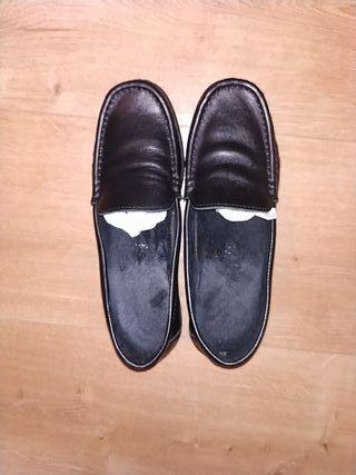 Zapatos de piel colegio o trabajo