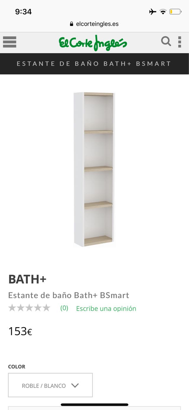 Estante de baño Bath+