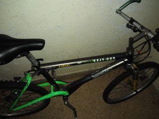 bici cuadro de aluminio.