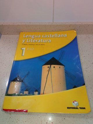 Libro de texto 1 ESO .LENGUA CASTELLANA Y Literatu